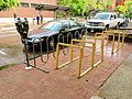Bike racks in Eugene, Oregon.jpg