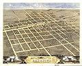 Bird's eye view of the city of Sandwich, De Kalb County, Illinois 1869. LOC 73693372.jpg