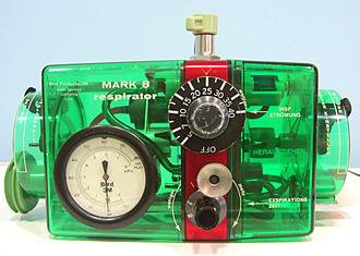 Forrest Bird - Bird Mark 8 ventilator
