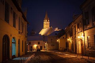 Mediaș Municipality in Sibiu, Romania