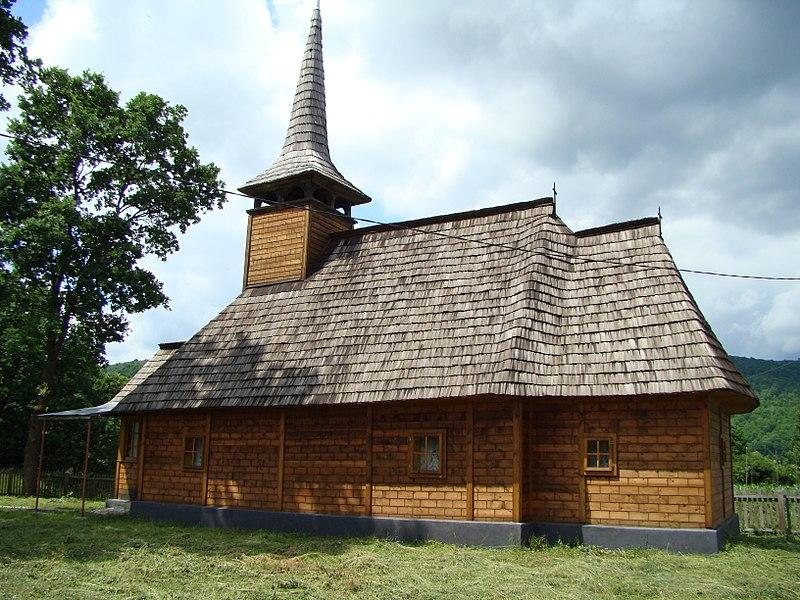 Fișier:Biserica de lemn Sf.Dumitru Răzoare (29).JPG