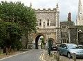 Bishop's Gate - entrance to the Bishop's Palace - geograph.org.uk - 2488878.jpg