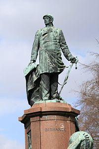 A statue of Bismarck in Berlin (Source: Wikimedia)