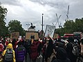 Black Lives Matter, Hyde Park London protest 3.6.23.jpg