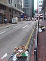 Black dark night 香港反對逃犯條例 Anti-HK bill demo against extradition bill protect Sheung Wan Hillier Street Des Voeux Road Central July 2019 SSG 02.jpg