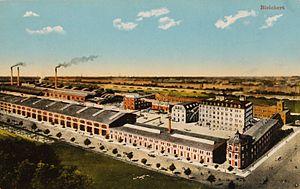 Bleichert - Image: Bleichert & Co. Fabrik Leipzig Gohlis (1910)