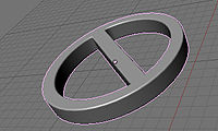 Blender 3D - Logo circle in 3D - 20100905.jpg