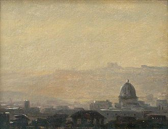 Pierre-Henri de Valenciennes - Image: Blick auf die Umgebung von Rom