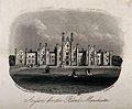 Blind Asylum, Manchester, England. Line engraving, 1864. Wellcome V0013912.jpg