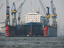 Blohm + Voss Dock 10 in Hamburg