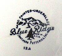 Blue Ridge st& & Blue Ridge (dishware) - Wikipedia