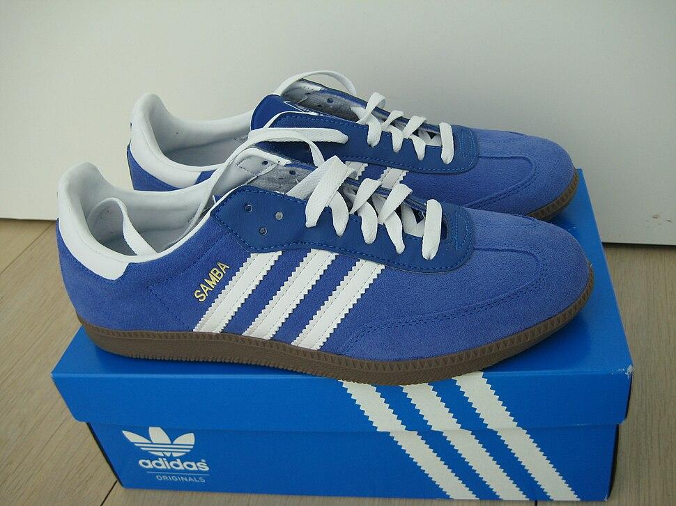 Blue suede samba