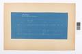 Blueprint på sockel, Hallwylska palatset - Hallwylska museet - 101072.tif