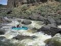 Boating East Fork Owyhee Wild and Scenic River in Garat Gorge (23262476893).jpg