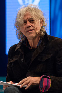 Bob Geldof Irish singer-songwriter, author and political activist