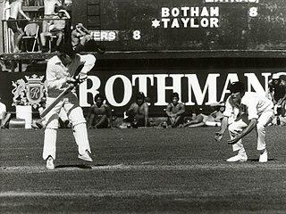 Bob Taylor (cricketer) Cricket player of England.
