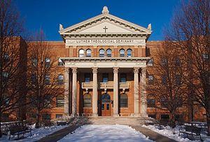 Luther Seminary - Image: Bockman Hall