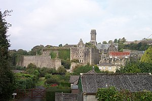 Bodmin Jail - Bodmin Jail as seen from Cardell Road