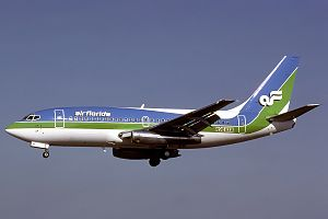 Air Florida Flight 90 - An Air Florida Boeing 737-222 identical to the one involved in the crash