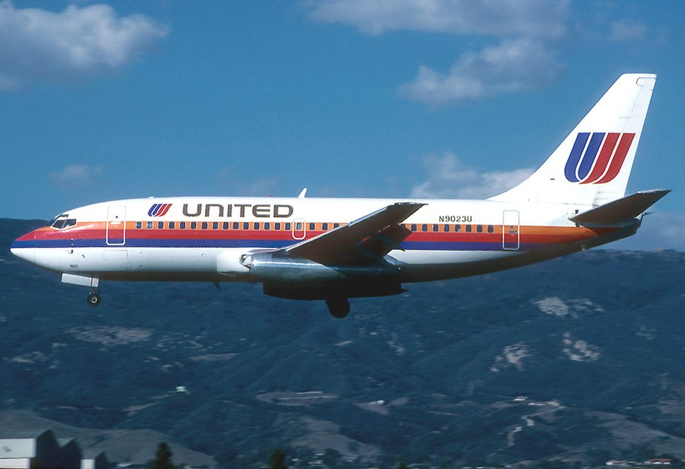Boeing 737-222, United Airlines AN1045540