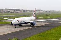 G-VIIX - B772 - British Airways