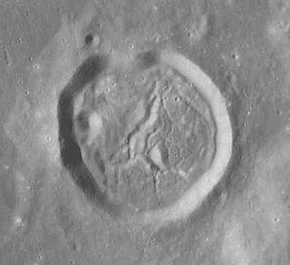 Bohnenberger (crater) impact crater