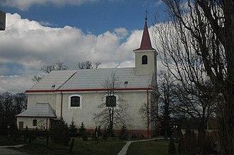 Boleráz - St. Michael's church, Boleráz