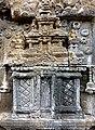 Borobudur - Divyavadana - 082 N, The Sky rains down Jewels (detail 6) (11706055823).jpg