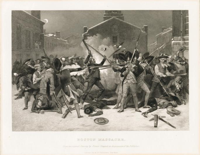 BostonMassacre byAlonzoChappel1878