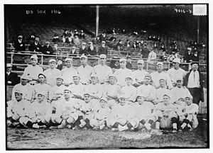1916 World Series - The Red Sox' World Series winning roster