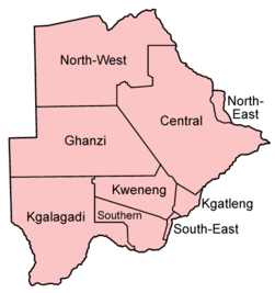 Botswana districts named.png