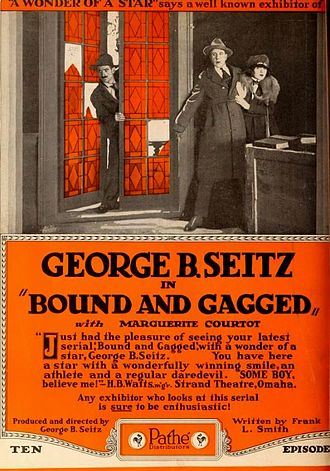 Bound and Gagged (serial) - Advertisement