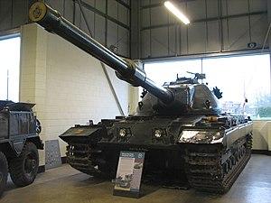 Conqueror (tank) - Conqueror Mk I at The Tank Museum, Bovington (2008)