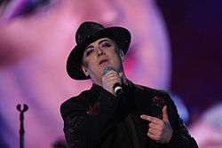 Boy George, sångare i Culture Club.