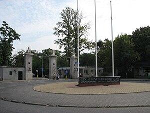 National Defence University of Warsaw - Image: Brama AON