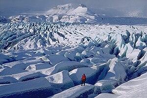 Breiðamerkurjökull - The Breiðamerkurjökull Glacier field