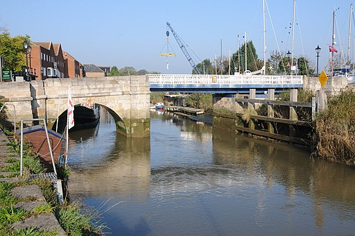 Bridge over Sandwich Haven - geograph.org.uk - 2650751