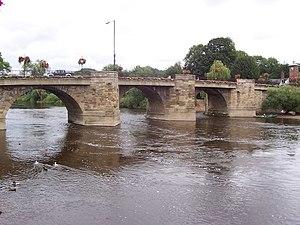 English: Bridgnorth Bridge A view of the bridg...