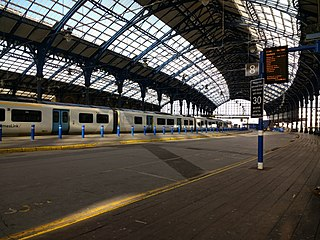 railway station in Brighton, East Sussex, England