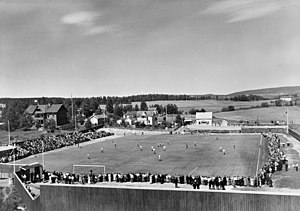 Briskeby Arena - Briskeby during a match in the 1930s