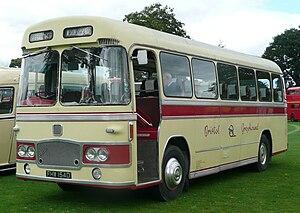 Bristol MW - MW with typical ECW coach bodywork
