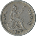 British fourpence 1837 reverse.png