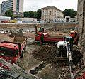Brno, Besední, stavba podzemních garáží (2015-2019).jpg