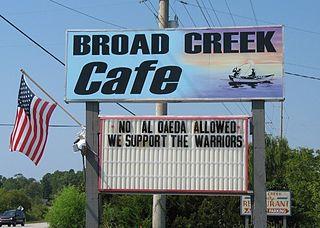 Broad Creek, North Carolina Census-designated place in North Carolina, United States