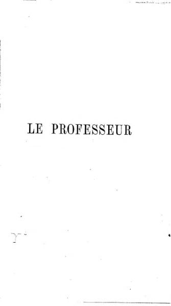 File:Brontë - Le Professeur.djvu