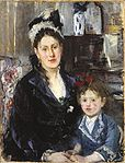 16 July 2010: Portrait of Mme Boursier and Her Daughter (Portrait de Mme Boursier et de sa fille)