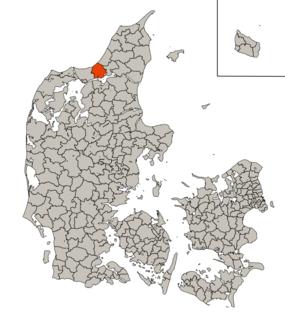 Brovst Municipality Former municipality in Denmark