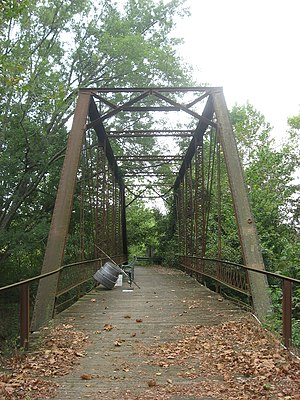 Brown County Bridge No. 36 - Brown County Bridge No. 36, September 2010