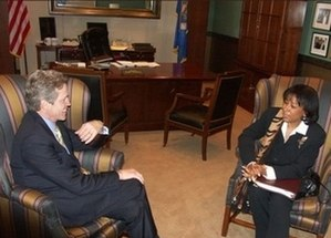 Janice Rogers Brown - Brown meeting with Senator Norm Coleman prior to her confirmation