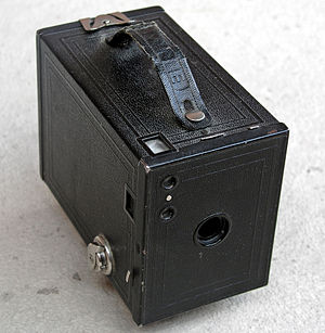 History of the camera - Kodak No. 2 Brownie box camera, circa 1910